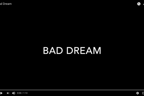 Bad Dream - A Stop Motion Movie
